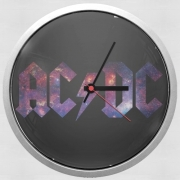 Wall clock AcDc Guitare Gibson Angus