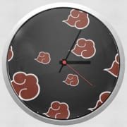 Wall clock Akatsuki Cloud REd