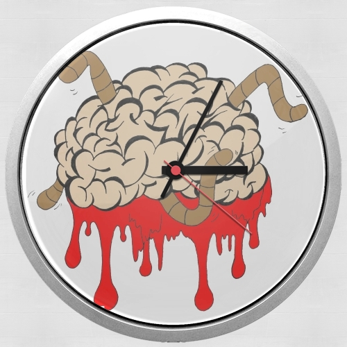 Horloge big brain murale personnalis e - Horloge murale personnalisable ...