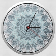 Wall clock BOHOCHIC MANDALA IN BLUE
