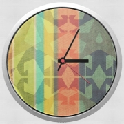 Horloge Murale colourful design