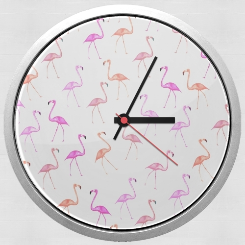 Wall clock FLAMINGO BINGO