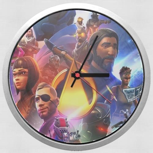 Fortnite Skin Omega Infinity War für Wanduhr