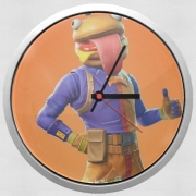 Horloge Murale Hamburger Fortnite skins Beef Boss