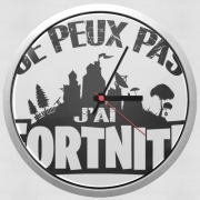 Wall clock I cant i have Fortnite