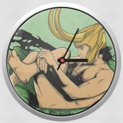 Wall clock In the privacy of: Loki
