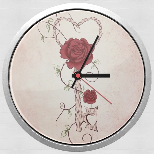 Horloge Murale Key Of Love