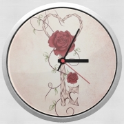 Wall clock Key Of Love