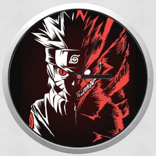 Kyubi x Naruto Angry for Wall clock