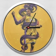 Wall clock Legend Black Mamba