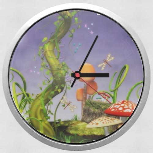 horloge haricot magique murale personnalis e. Black Bedroom Furniture Sets. Home Design Ideas