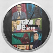 Wall clock Mashup GTA The Devil