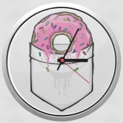 Wall clock Pocket Collection: Donut Springfield