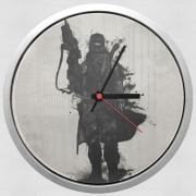 Horloge Murale Post Apocalyptic Warrior