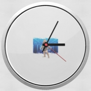 Wall clock Rowdy The Arm Collector