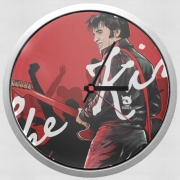 Wall clock The King Presley