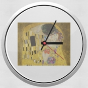 Wall clock The Kiss Klimt