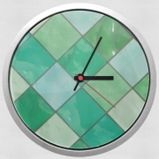 Wall clock Ultra Slim Tiles V01