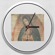 Wall clock Virgen Guadalupe