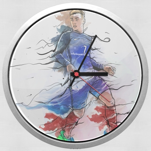 Wall clock Vive la France, Antoine!