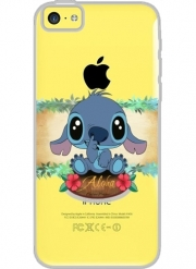 Coque Iphone 5C Transparente Aloha