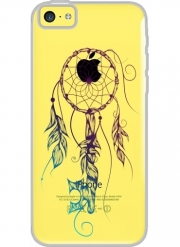 Coque Iphone 5C Transparente Key to Dreams Colors