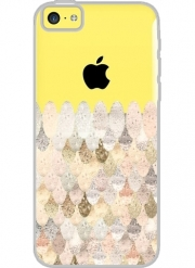 Coque Iphone 5C Transparente MERMAID GOLD