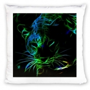 Coussin Abstract neon Leopard