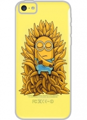 Iphone 5C Hard Case Crystal Transparent Minion Throne