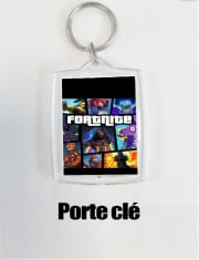 Porte clé photo Fortnite - Battle Royale Art Feat GTA
