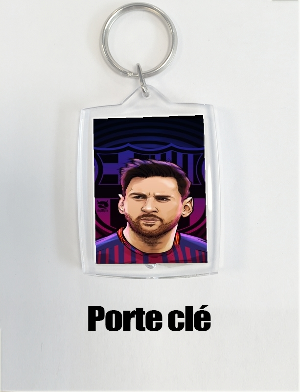 Key Ring Legendary Goat Football