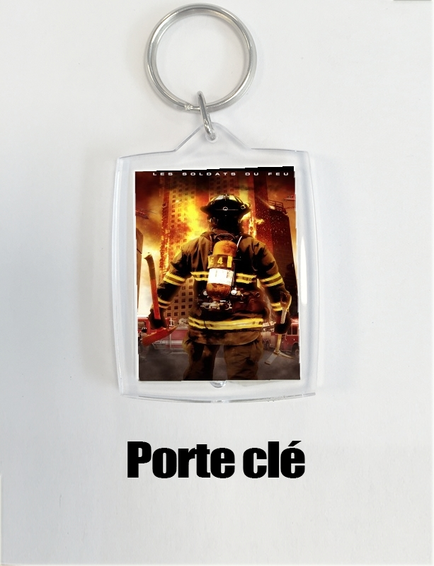Key Ring Save or perish Firemen fire soldiers
