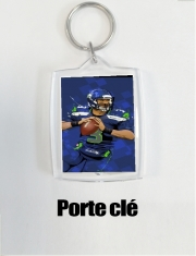 Key Ring Seattle Seahawks: QB 3 - Russell Wilson