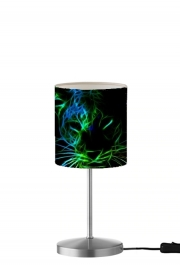 Lampe de table Abstract neon Leopard