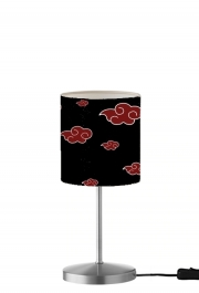 Lampe de table Akatsuki  Nuage Rouge pattern