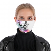 Masque alternatif Color skull