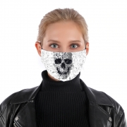 Masque alternatif Doodle Skull