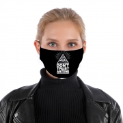 Masque alternatif Illuminati Dont trust anyone