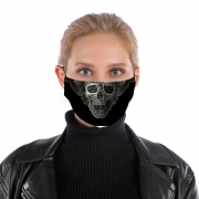 Masque alternatif Lace Skull
