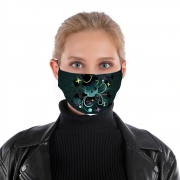 Masque alternatif Skull Pop Art Disco