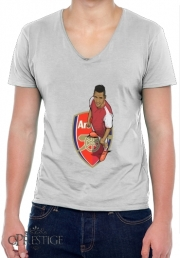 Mens T-Shirt V-Neck Football Stars: Alexis Sanchez - Arsenal