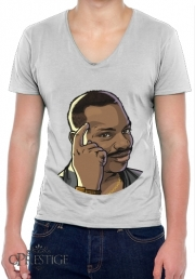 Mens T-Shirt V-Neck Meme Collection Eddie Think
