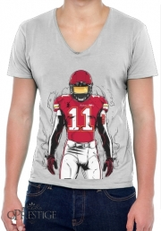 Mens T-Shirt V-Neck SB L Kansas City