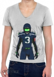 Mens T-Shirt V-Neck SB L Seattle