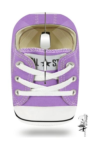Sans All Violet Souris Fil Avec Chaussure White Récepteur Star Usb bIeE9WDH2Y