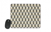 Mousepad Glitter Triangles in Gold Black And Nude