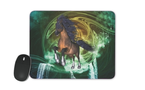 Mousepad Horse with blue mane