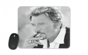 Mousepad johnny hallyday Smoke Cigare Hommage