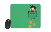 Mousepad Pocket Collection: Goku Dragon Balls
