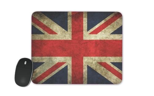 Britische Fahne Vintage für Mousepad